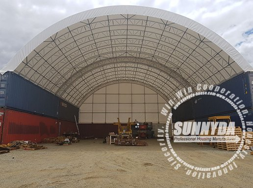 double truss container shelter-2