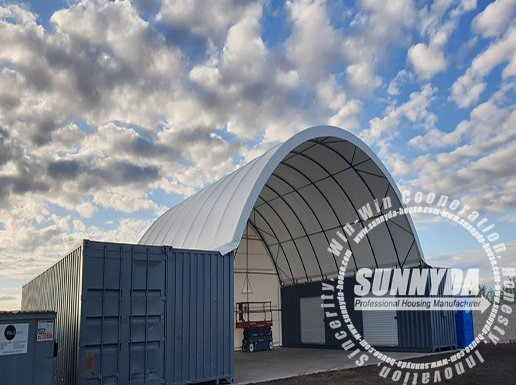 single truss container shelter-2