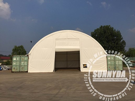 single truss container shelter-4