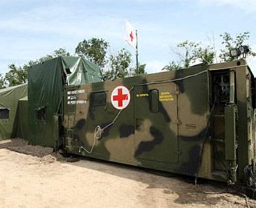 Army field hospital