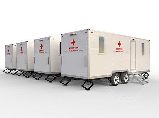 medical trailer