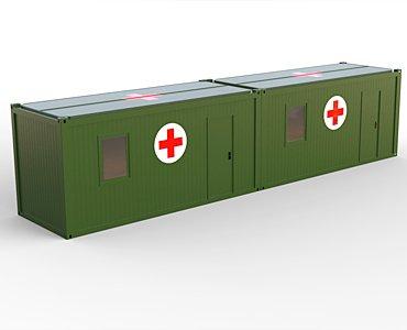 Military field hospital