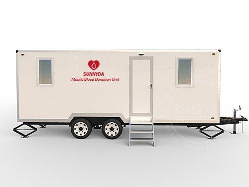 mobile blood donation unit