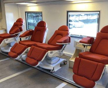 mobile blood donation unit 4