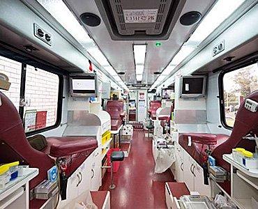 mobile blood donation unit 7