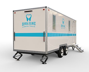 mobile dental clinic trailer