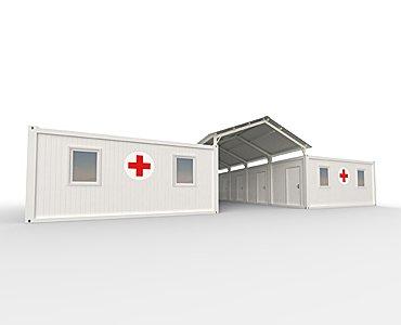 mobile hospital unit