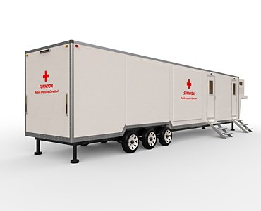 mobile intensive care ambulance