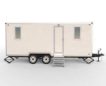 mobile vet trailer