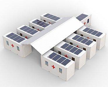 solar powered medical clinic