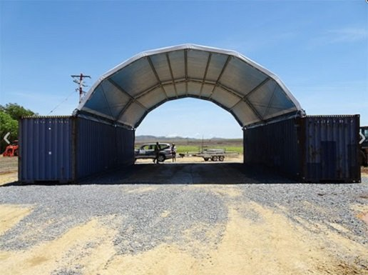 20ft Container Shelter