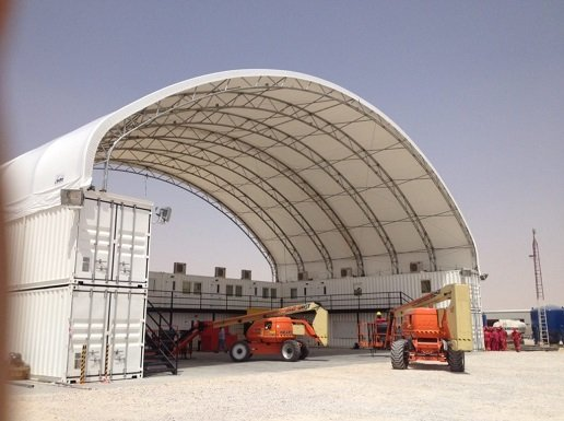 40ft Container Shelter