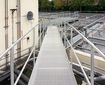 Lightweight Steel Platform