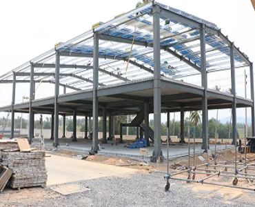 Two-story Steel Structure Warehouse