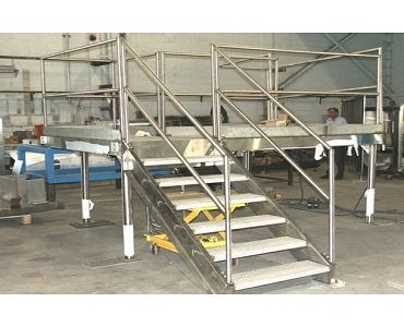Industrial Stainless Steel Platform
