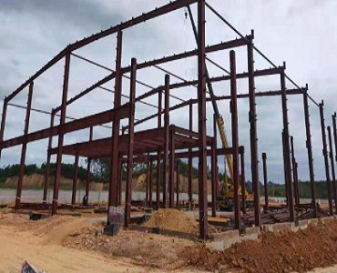 Strong Steel Structure Warehouse