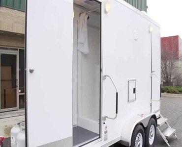 Portable Bathroom Trailer with Shower
