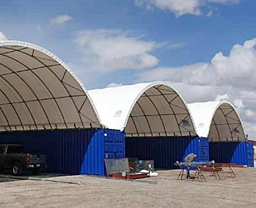 container dome shelters