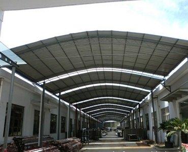 galvanized steel shed frame