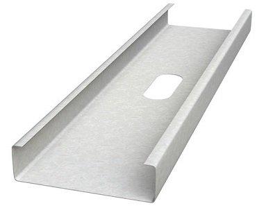 galvanized steel wall framing stud