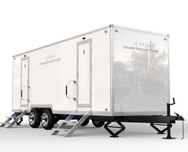 luxury mobile toilets