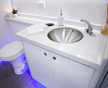 luxury portable washrooms