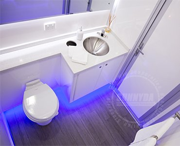 luxury restroom trailers for sale