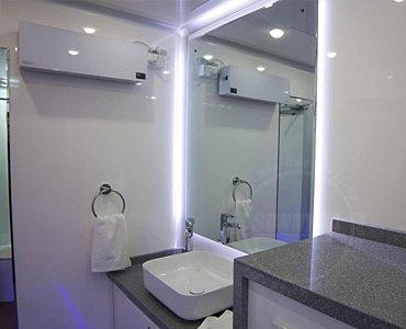 luxury shower trailer