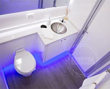 mobile porta potty trailer