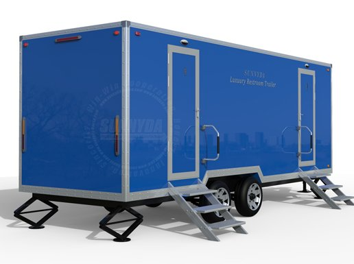 mobile restroom trailers