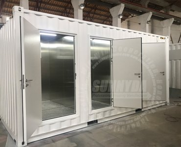 shipping container toilets