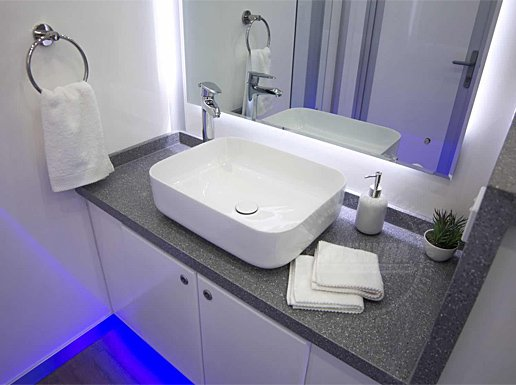 bathroom shower trailer