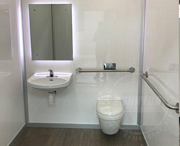 handicap accessible restrooms