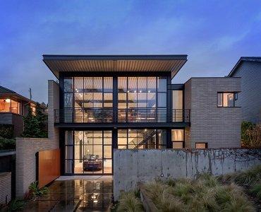 industrial steel home design