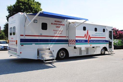 Mobile donation unit