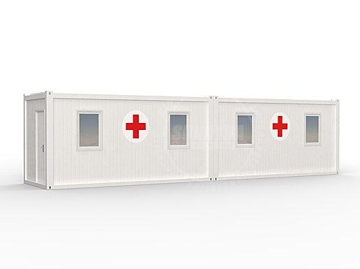 Contaner hospital