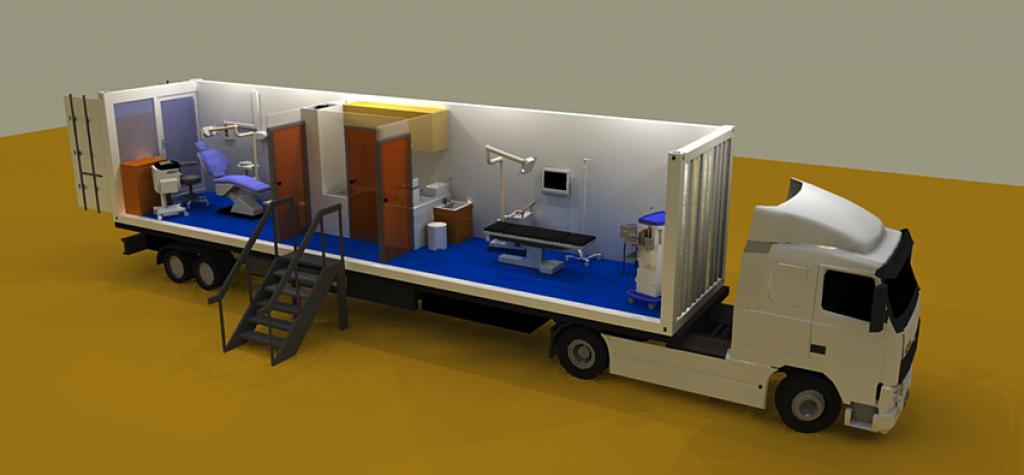 Mobile dental trailer