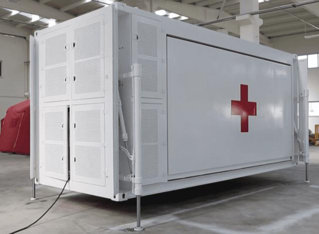 Expandabale mobile hospital