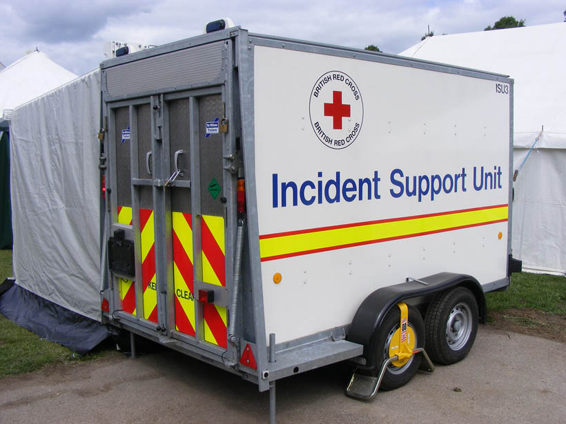 First Aid trailer