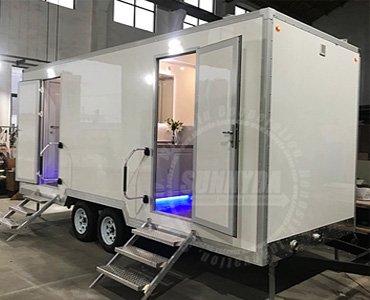 Luxury portable toilets
